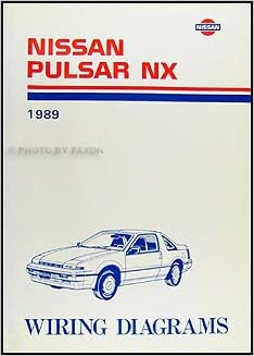 1989 Nissan Pulsar Nx Wiring Diagram Manual Original Nissan Amazon
