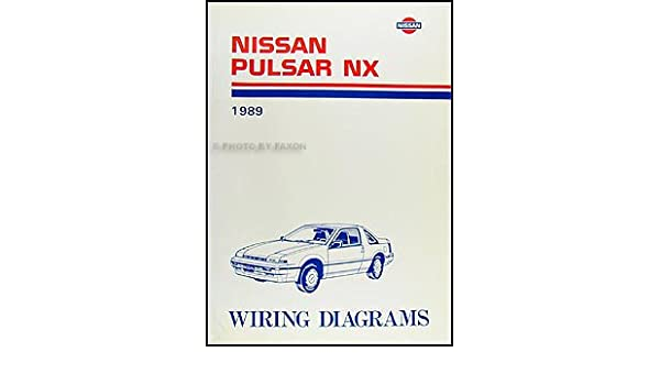 1989 nissan pulsar nx wiring diagram manual original nissan amazon 1989 nissan pulsar nx wiring diagram manual original nissan amazon books asfbconference2016 Images