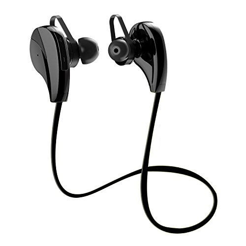 Bluetooth Earphones M6 4.1 Bluetooth Stereo headphones Secure Fit for Gym with Magnetic and Built in Mic