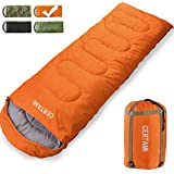 CER TAMI Sleeping Bag for Adults, Girls & Boys, Lightweight Waterproof Compact, Great for 4 Season Warm & Cold Weather, Perfect for Outdoor Backpacking, Camping, Hiking