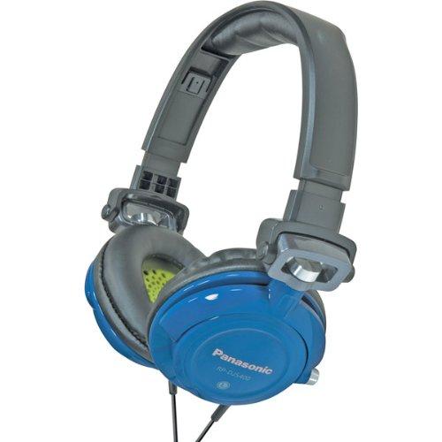 Panasonic Dj Home Headphones (DJ STREET DESIGN BLUE Electronics & computer accessories)