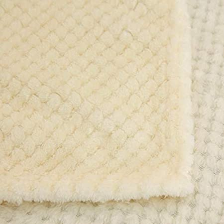 Youdong Plaid Couverture Polaire Sherpa Couverture Lit Double Face Douce et Chaude Plaid Jet/é de Canap/é Flanelle Plaid en Microfibre Couverture en Microfibre de Flanelle