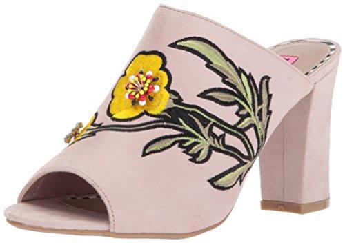 Betsey Johnson Womens Sandalo Vestito Taupe Multi