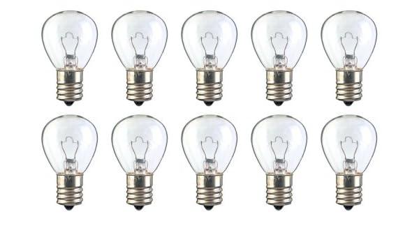 E17 Base 24.75 W Box of 10 Bulbs #1143K 12.5 V RP-11