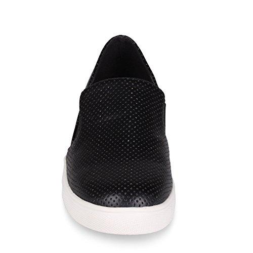 Ville Pinellas Halka På Mode Sneaker Svart
