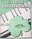 Ephemeral Sheet Music, The Irish Washerwoman for Piano, Vintage (Not a Reproduction)