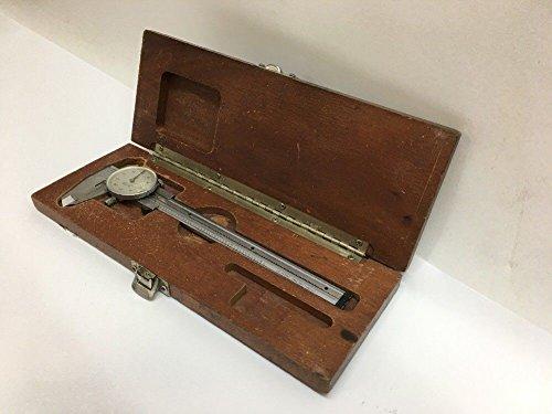 Sharpe Dial Caliper (Brown & Sharpe Stainless Steel Tempered Swiss Made Dial Caliper W/ Case 579-1)