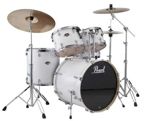 Export New Fusion 5 Piece Drum Set with Hardware Box A Pure (Pearl Acoustic Drum)