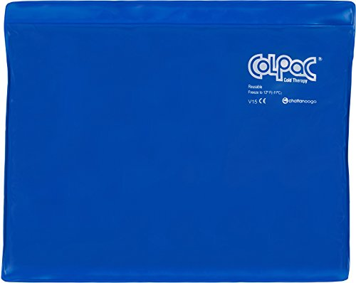Chattanooga ColPac Reusable Gel Ice Pack Cold Therapy for Knee, Arm, Elbow, Shoulder, Back for Aches, Swelling, Bruises, Sprains, Inflammation (11'x14') - Blue