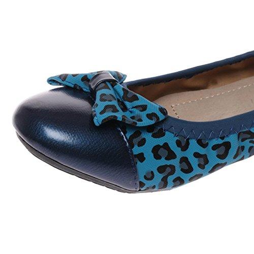 La Modeuse-Bailarinas para mujer Azul - azul