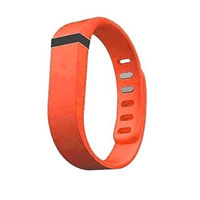 Dealzip Inc® Fitbit Flex Wristband Replacement Accessory,Orange,Large