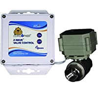 Z-Wave 3/4 Valve Water Control Valve by Leak Intel, Z-Wave Plus, NSF Certified, USA MADE, LIFETIME WARRANTY