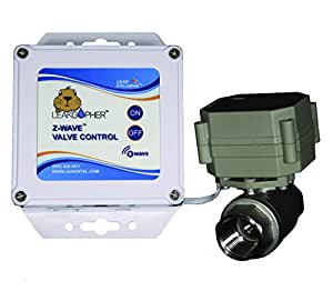 "Z-Wave 1"" Valve Water Control Valve by Leak Intel, Z-Wave Plus, NSF Certified, USA MADE, LIFETIME WARRANTY"