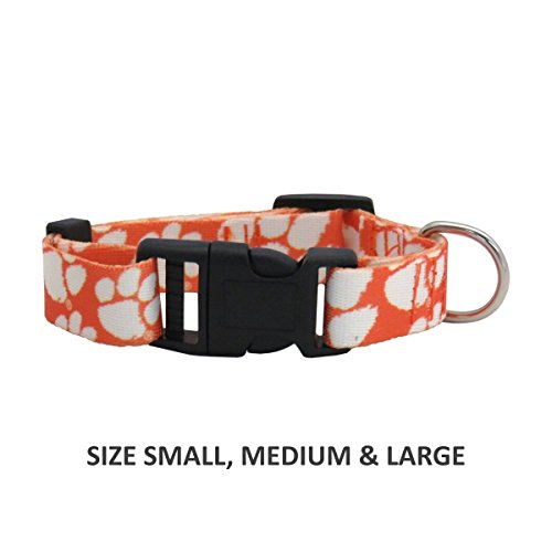 Pet Care Preferred Clemson Tigers Pet Nylon Collar - Medium