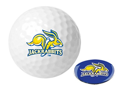 Ball Dakota Golf South (NCAA South Dakota State Jackrabbits - Golf Ball One Pack with Marker)