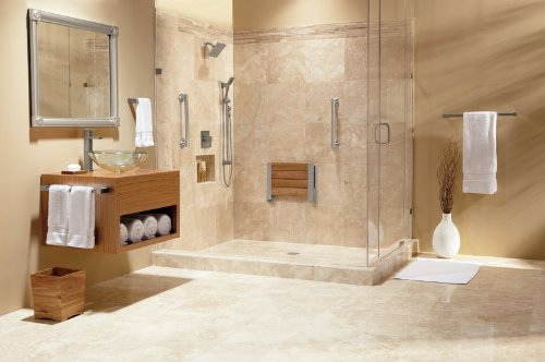 moen teak wood folding shower seat aluminum dn7110 bathtub and showerhead faucet systems amazoncom