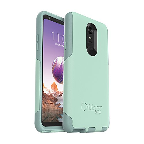 OtterBox Commuter Series Case for LG Stylo 4 - Retail Packaging - Ocean Way (Aqua SAIL/Aquifer)