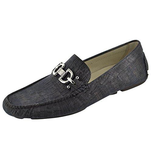 Donald Pliner Men's Shoes Veba2 Cork Driving Loafer 12 M M Navy Cork