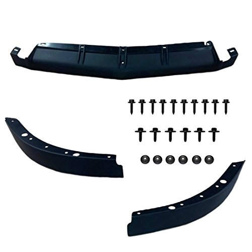C4 Spoiler Lower Front Spoiler Air Dam Kit with Mount Hardware Fits: 91 through 96 Corvettes ()