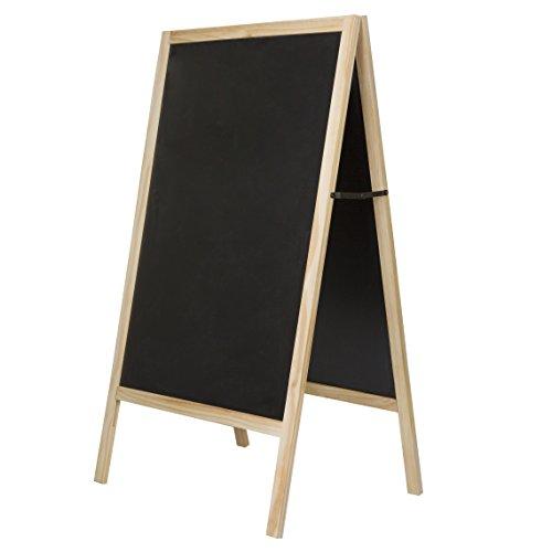 - Insight Sidewalk A-Frame Chalkboard - 30x20 Writing Surface - for Cafes, Bars, Restaurants, Weddings