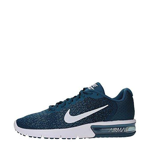 dde4396342eb2 NIKE Men's Air Max Sequent 2 Running Shoes (11.5 D(M) US, Legion  Blue/White/Black)