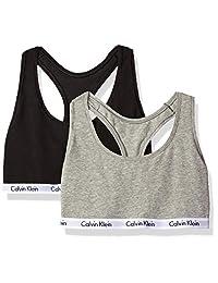Calvin Klein Womens Standard Carousel 2 Pack Bralette