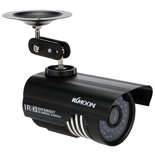 KKmoon 1/3'' 1200TVL 3.6mm len 36 Led Had IR Cut 100 Feet Night Vision outdoor Security Camera