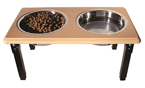 POSTURE-PRO Adjustable Double Diner, Oak, 2-Quart
