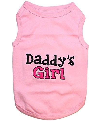 Parisian Pet Daddy's Girl T-Shirt, Medium