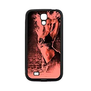 Custom Your Own Personalized Jessica Alba Back Cover TPU Case for SamSung Galaxy S4 I9500 JNS4-1080