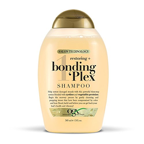 OGX Restoring + Bonding Plex Salon Technology Shampoo, 13 Ounce