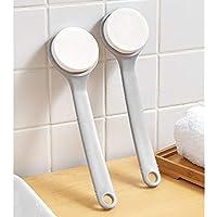 Kuinayouyi Lotion applikatorer för din rygg långt räckhåll handtag med svamp för enkel självapplicering av dusch bad…