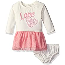 Baby Girls' French Terry and Tulle Dress