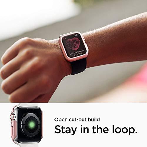 Spigen Thin Fit Designed for Apple Watch Case for 44mm Series 4 (2018) - Rose Gold by Spigen (Image #4)