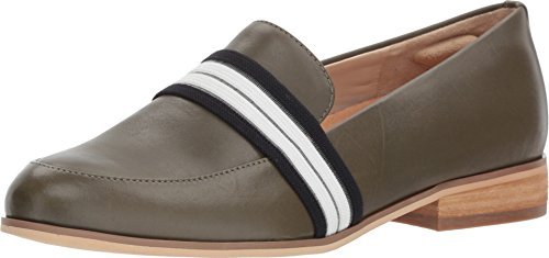 Dr. Scholl's Women's Everett Band - Original Collection Green Leather 6.5 M US
