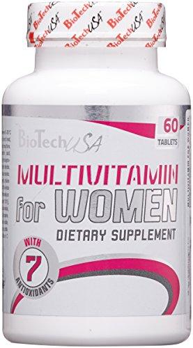 BioTech USA Multivitamin- 60 Tabletten, 1er Pack (1 x 105 g)
