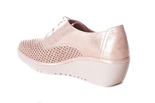 pour Femme à Chaussures de FLEX Ville Lacets Beige amp;GO anwqHxCBxR