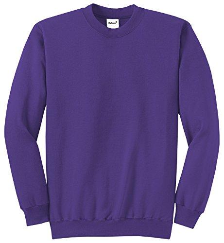 Purple Classic Crew Sweatshirt - 5