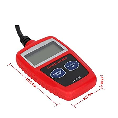 66991146ab Amazon.com  For NISSAN OBD 2 II portable scanner for Car Auto Vehicle ON  BOARD Computer Diag Diagnostic Problem Codes Check Tool With cable and  Screen  Car ...
