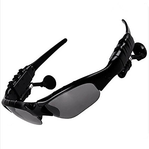 Wireless Bluetooth Polarized Sunglasses Earphone Sports Headphone Smart headset Mp3 Outdoor Riding Glasses For Android Smart - Emporium Sunglass