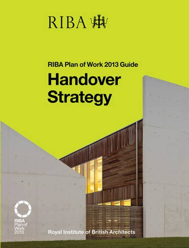 Book cover from Handover Strategy: RIBA Plan of Work 2013 Guide by Lisa Pasquale