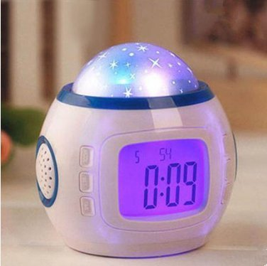Amazon galaxy clock soothing star projector sound machine galaxy clock soothing star projector sound machine relaxing night light with nature sounds and mozeypictures Image collections