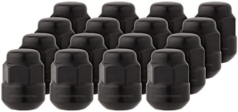 PARENT - DPAccessories - 量 - DPA-LCR2B6HEOBK04001-P 16 Lug Nuts ブラック LCR2B6HEOBK04016