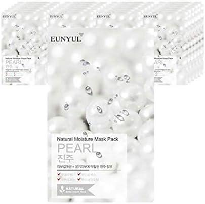 Eunyulナチュラルパールマスクパック25枚、Eunyul Natural Pearl Mask Pack 25 Sheets [並行輸入品]