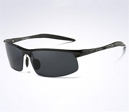 de KOMNY de Personas polarizado los Luces Degrees de de Miopía Grados Black Sol Cinturon Marea Terminado Pilotos Gafas 500 Hombres de Driving Gafas Sol Negro Glasses 350 XxXqO5rf