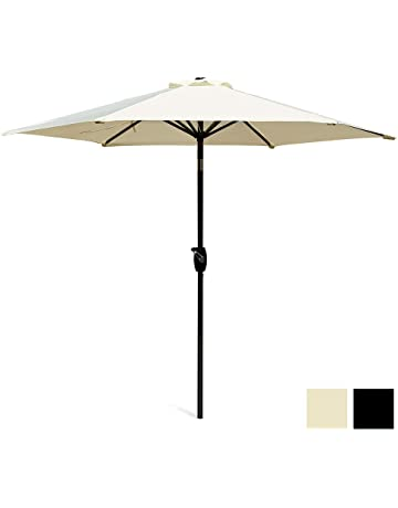 913a5952b2ad Scelto 2.7M Garden Parasol with Crank and Tilt, Sun Shade for Outdoor,  Garden