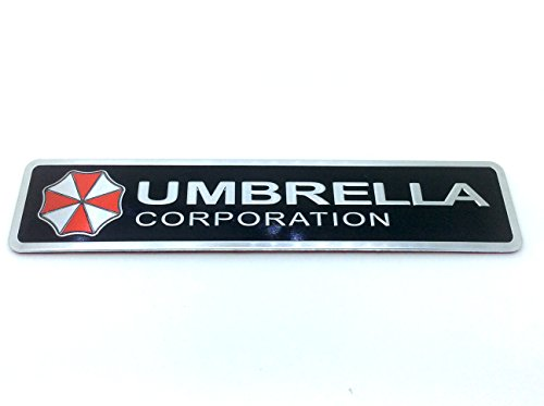 Umbrella Corporation Resident Evil Metal Car Sticker Badge Decal