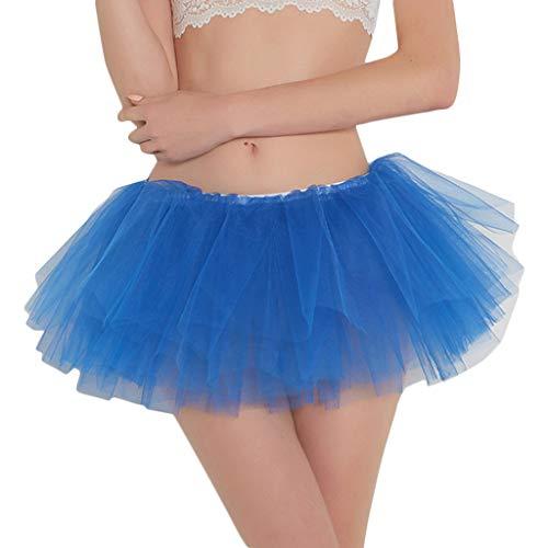 Pencil Skirt Pinstriped - RAINED-Women Pleated Mini Skirt Adult Dancing Tutu Skirt Gauze Short Skirt Elastic Waist Skirt Dark Blue