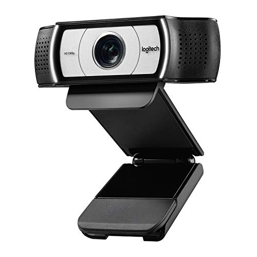 Logitech C930e 1080P HD Video Webcam - 90-Degree Extended View, Microsoft Lync...