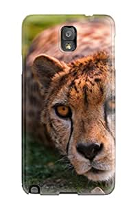 Hot New Cheetah Lying Tpu Cover Case For Galaxy Note 3